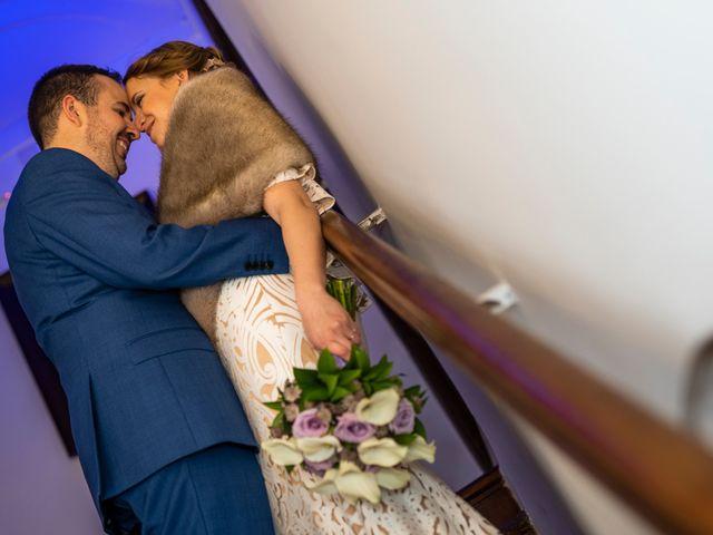 La boda de Alvaro y Africa en Valoria La Buena, Valladolid 31