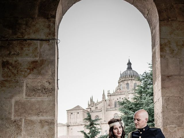 La boda de Jesús y Elena en Salamanca, Salamanca 9