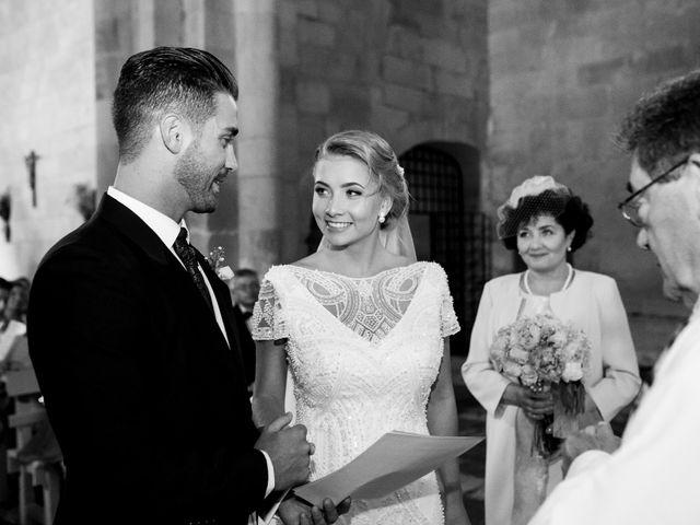 La boda de Álvaro y Viktorija en Olmos De Ojeda, Palencia 23
