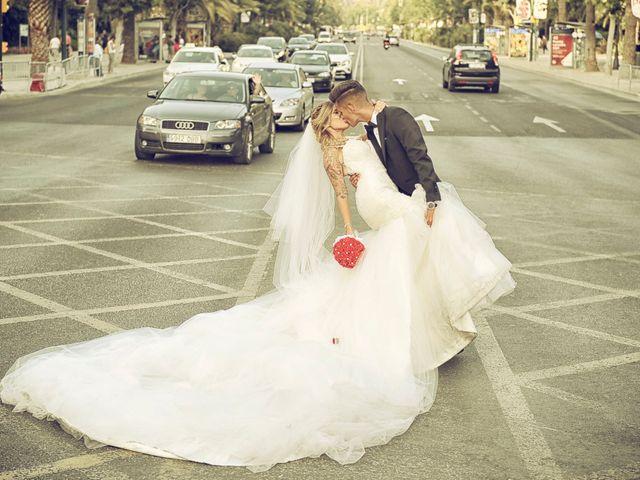 La boda de Antonio y Natalia en Alhaurin De La Torre, Málaga 13