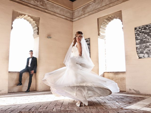 La boda de Antonio y Natalia en Alhaurin De La Torre, Málaga 18