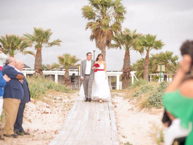 La boda de Jesús y Aída en Rota, Cádiz 41