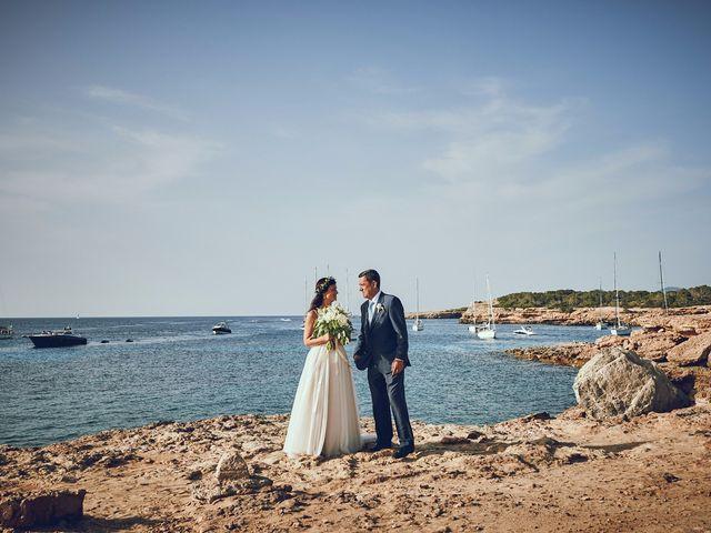 La boda de Estefan y Carol en Cala Conta, Islas Baleares 16
