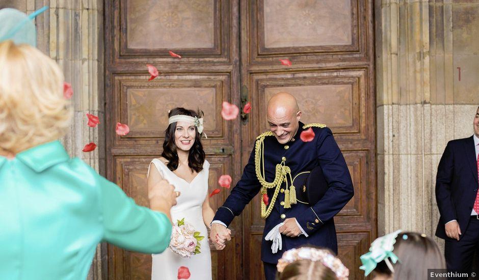 La boda de Jesús y Elena en Salamanca, Salamanca