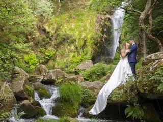 La boda de Capi y Olaia