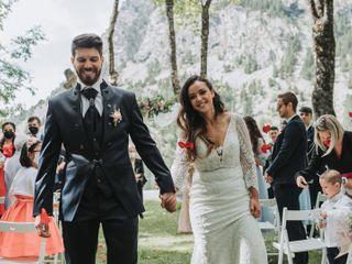 La boda de Fedwa y David