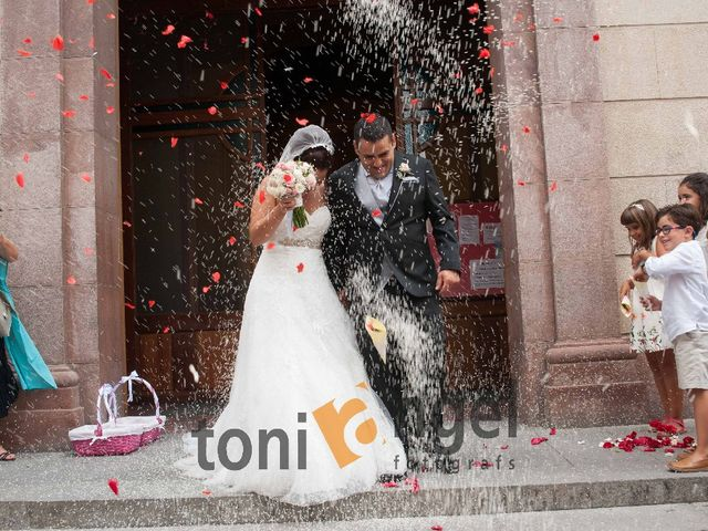 La boda de Manu y Jessica  en Sant Vicenç Dels Horts, Barcelona 2
