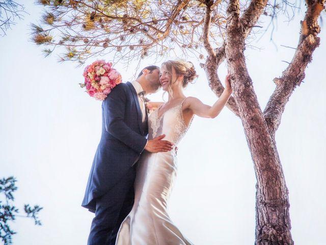 La boda de Caroline y Hadi