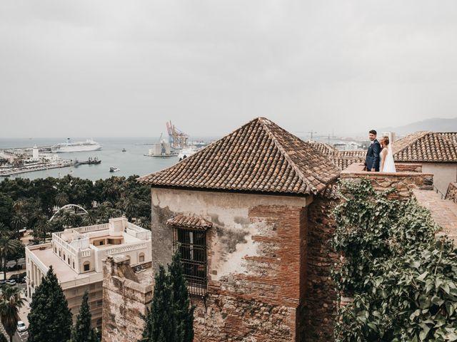 La boda de Jonatan y Lorena en Puerto De La Torre, Málaga 2