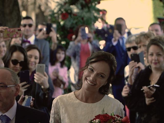 La boda de Alberto y Llivia