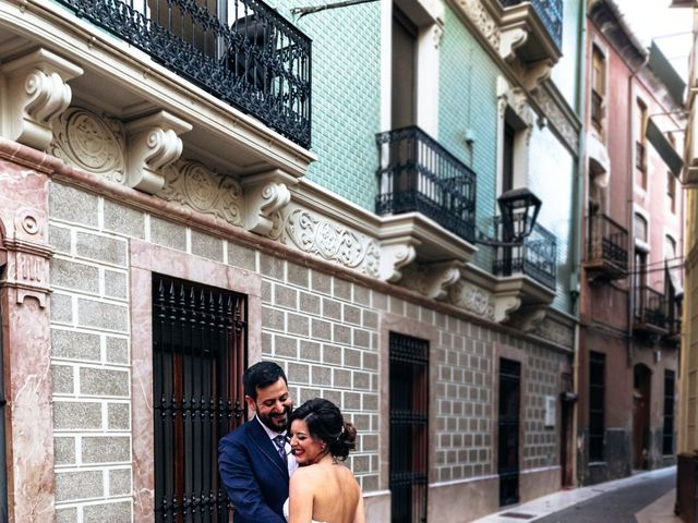 La boda de Rubén y Ana en Aspe, Alicante 2