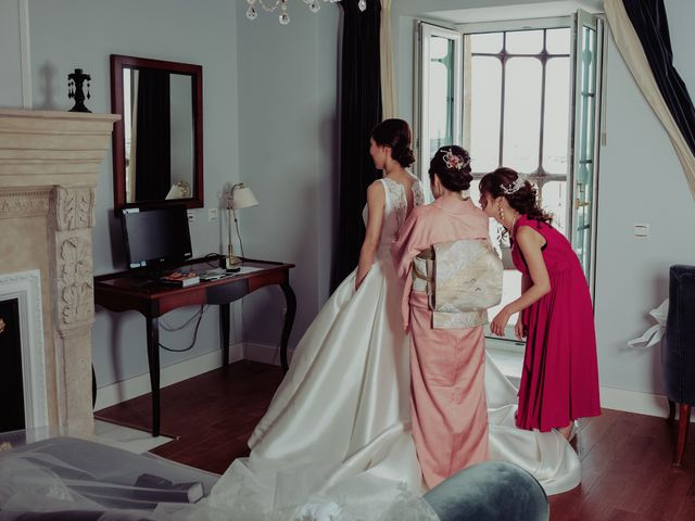 La boda de Gonzalo y Ayaka en Matilla De Los Caños, Salamanca 23