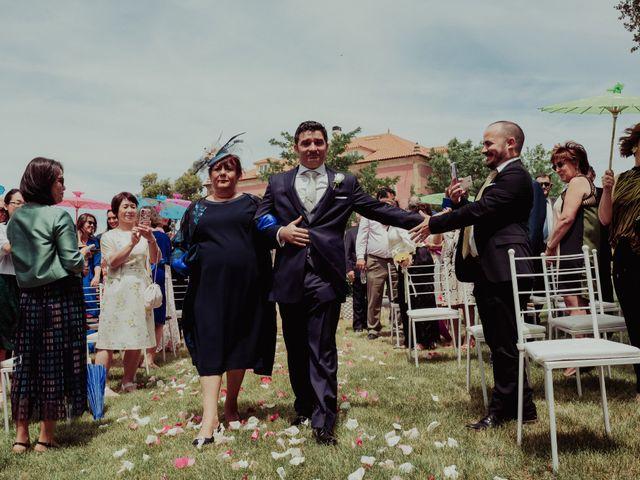 La boda de Gonzalo y Ayaka en Matilla De Los Caños, Salamanca 49
