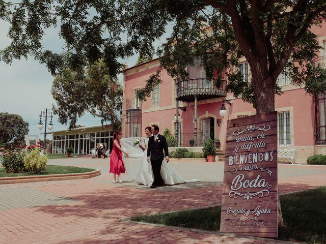 La boda de Gonzalo y Ayaka en Matilla De Los Caños, Salamanca 53