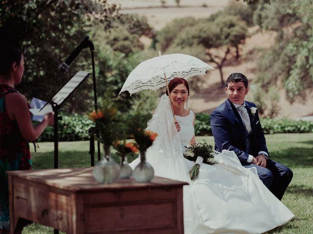 La boda de Gonzalo y Ayaka en Matilla De Los Caños, Salamanca 56