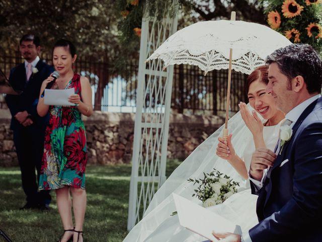 La boda de Gonzalo y Ayaka en Matilla De Los Caños, Salamanca 62
