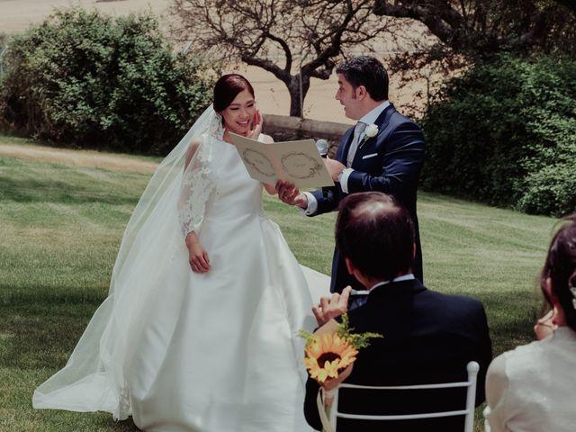 La boda de Gonzalo y Ayaka en Matilla De Los Caños, Salamanca 66