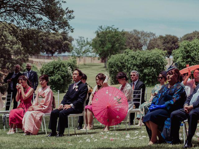 La boda de Gonzalo y Ayaka en Matilla De Los Caños, Salamanca 67