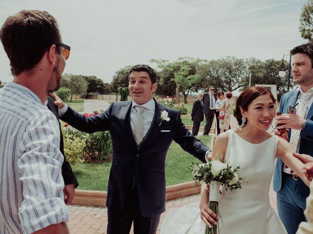 La boda de Gonzalo y Ayaka en Matilla De Los Caños, Salamanca 112