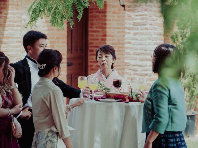 La boda de Gonzalo y Ayaka en Matilla De Los Caños, Salamanca 114