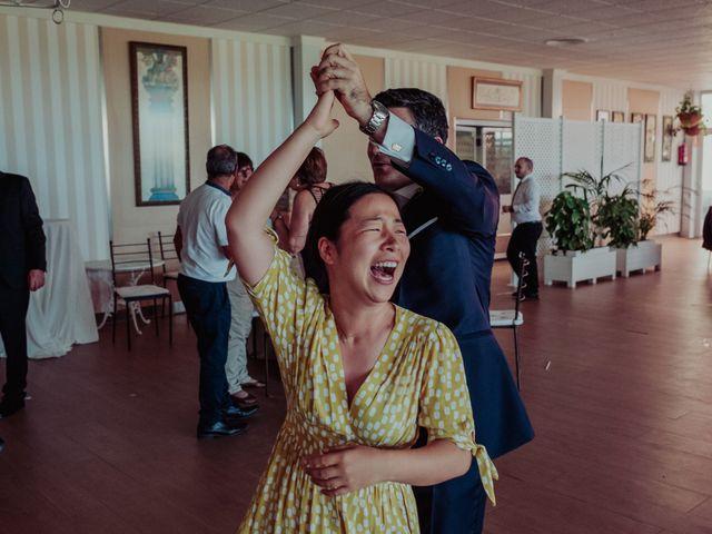 La boda de Gonzalo y Ayaka en Matilla De Los Caños, Salamanca 134