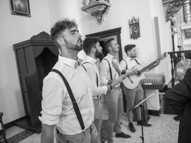 La boda de Jose María y Melibea en Villanueva Del Trabuco, Málaga 45