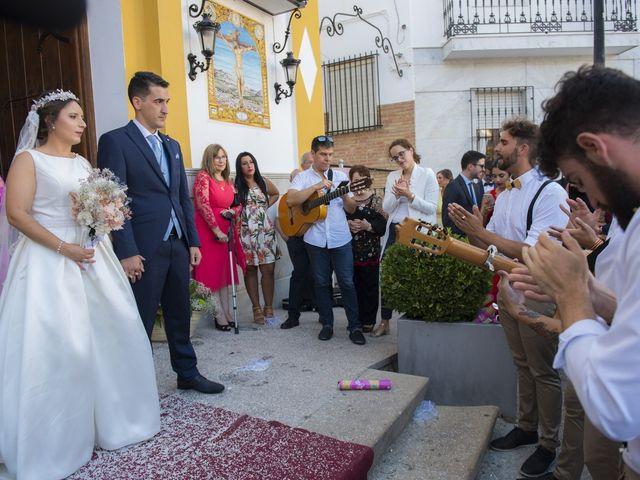 La boda de Jose María y Melibea en Villanueva Del Trabuco, Málaga 52