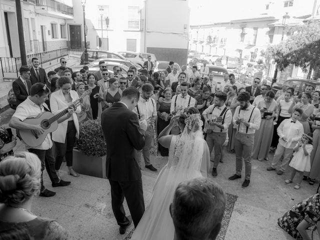 La boda de Jose María y Melibea en Villanueva Del Trabuco, Málaga 54