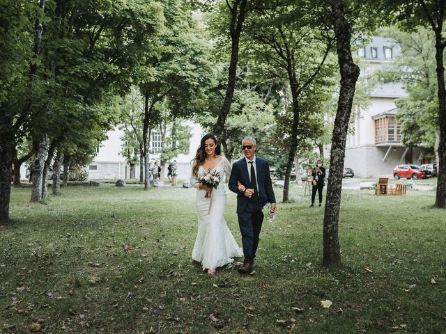 La boda de David y Fedwa en Balneario Panticosa, Huesca 3