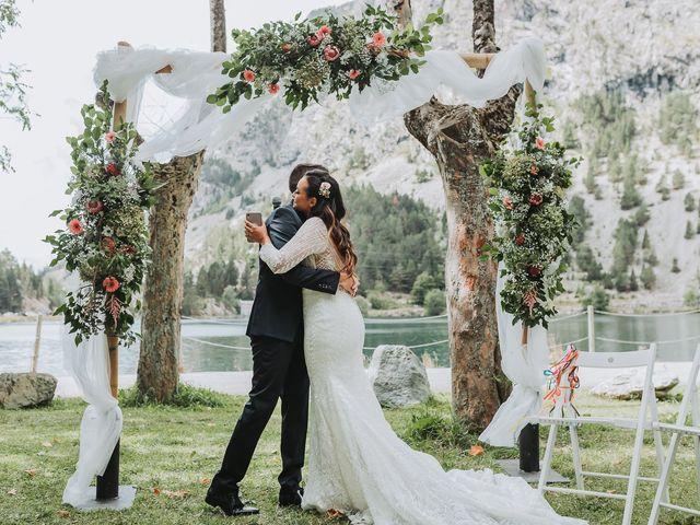 La boda de David y Fedwa en Balneario Panticosa, Huesca 9