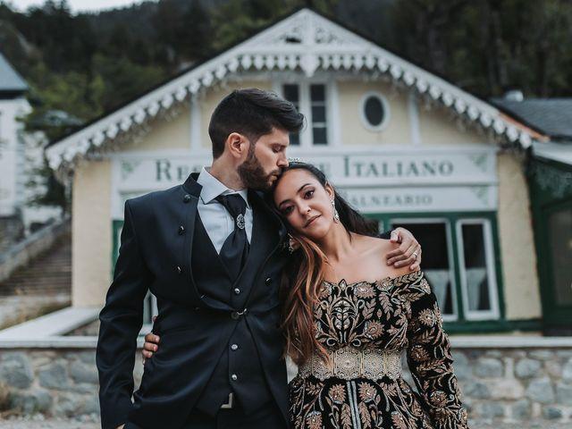 La boda de David y Fedwa en Balneario Panticosa, Huesca 23