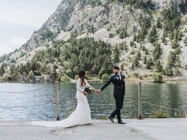 La boda de David y Fedwa en Balneario Panticosa, Huesca 24