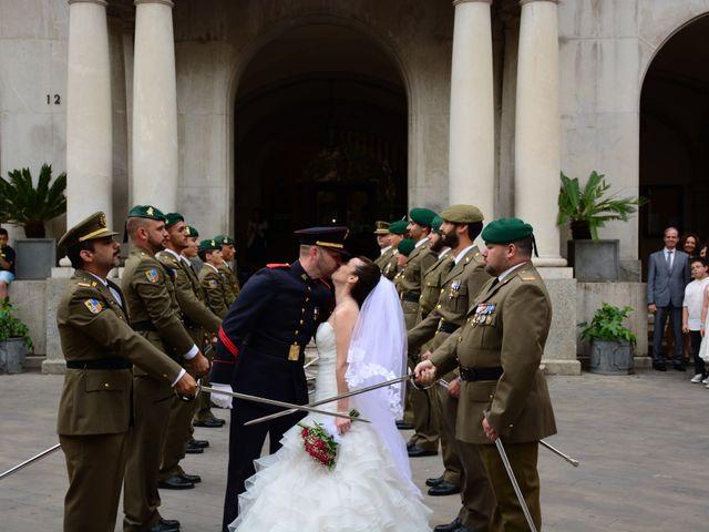 La boda de David y Patri en Figueres, Girona 1