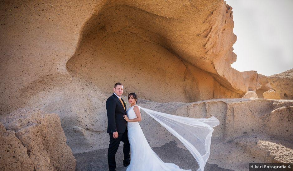 La boda de Rubén y Leydi en Arona, Santa Cruz de Tenerife