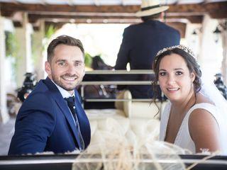 La boda de David y Lourdes