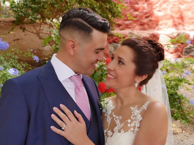 La boda de Dácil  y Dani