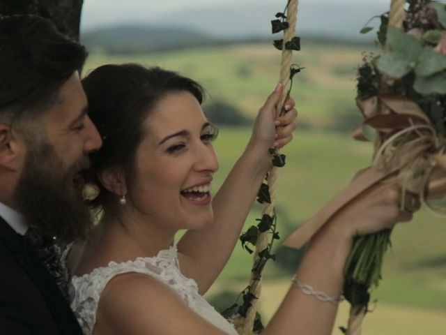 La boda de Andoni y Garazi en Quejana, Álava 23