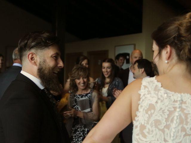 La boda de Andoni y Garazi en Quejana, Álava 25
