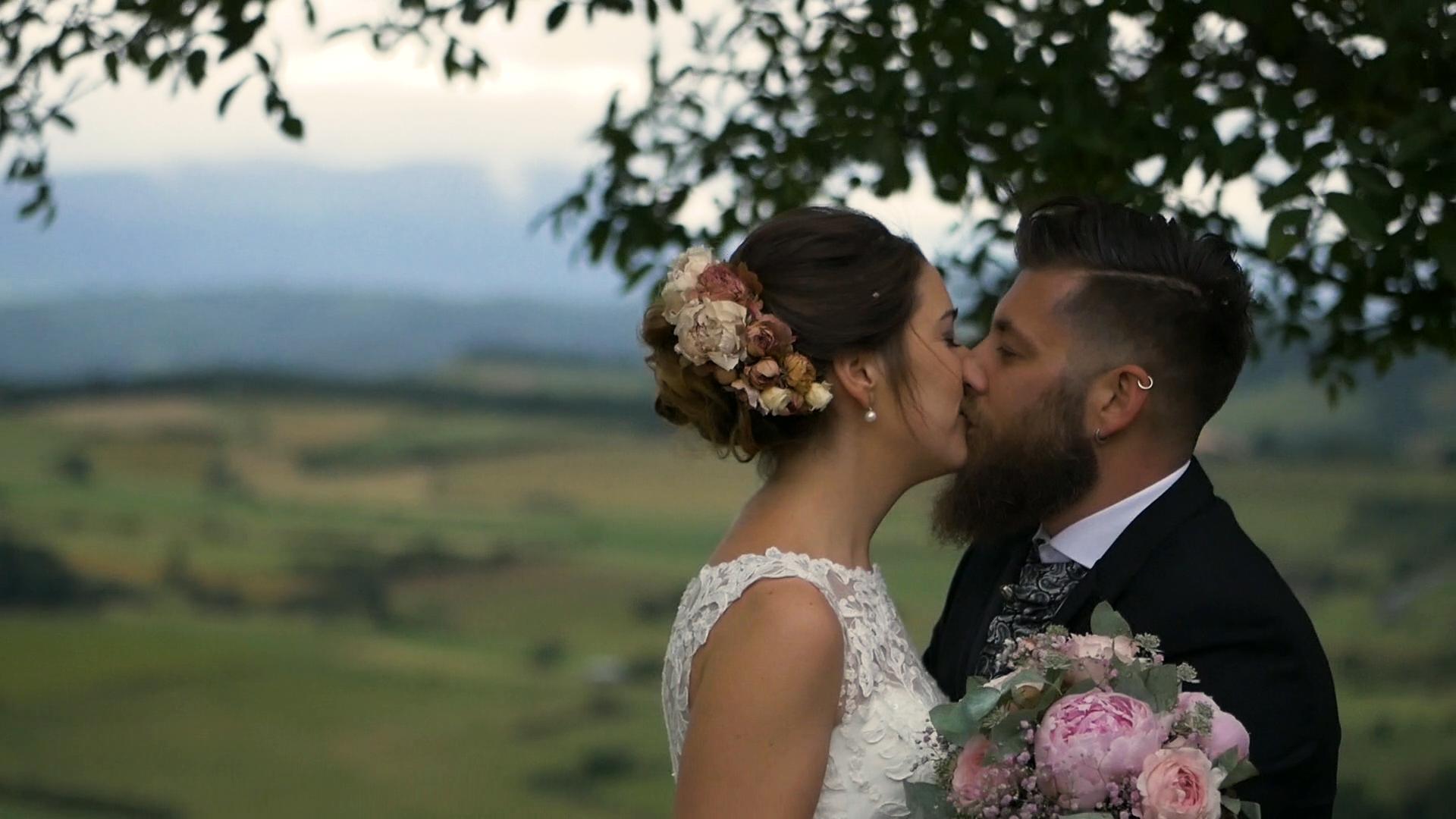 La boda de Andoni y Garazi en Quejana, Álava