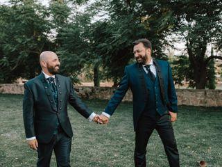 La boda de Iván y Víctor