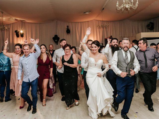La boda de Antonio y Tatiana en Velez Malaga, Málaga 136