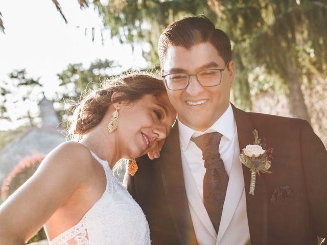 La boda de Damián y Raquel en Teo, A Coruña 13