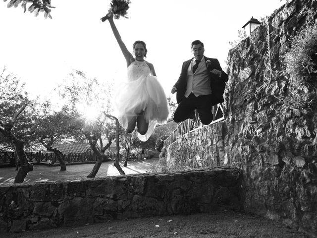 La boda de Damián y Raquel en Teo, A Coruña 17
