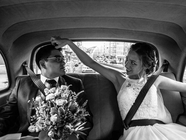La boda de Damián y Raquel en Teo, A Coruña 19