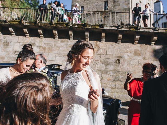 La boda de Damián y Raquel en Teo, A Coruña 21