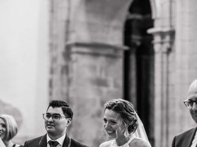 La boda de Damián y Raquel en Teo, A Coruña 23