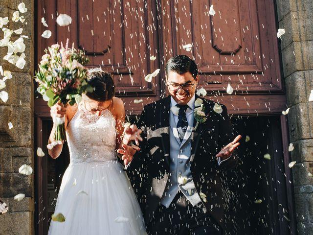 La boda de Damián y Raquel en Teo, A Coruña 24