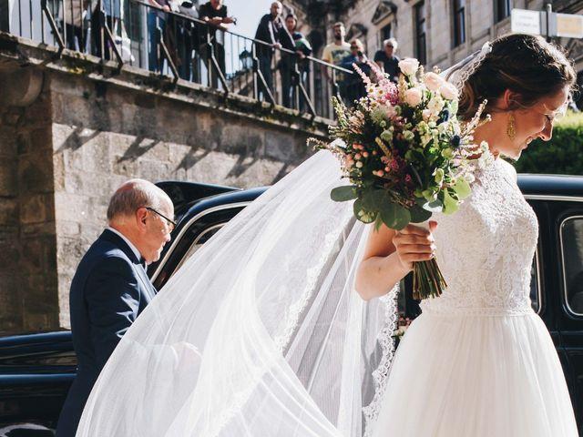 La boda de Damián y Raquel en Teo, A Coruña 33
