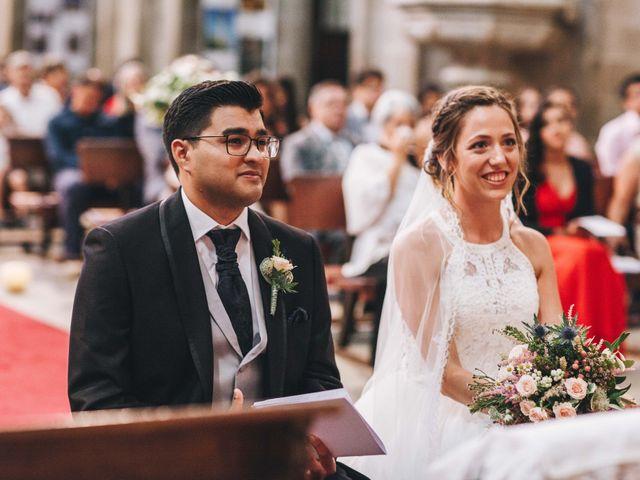 La boda de Damián y Raquel en Teo, A Coruña 42