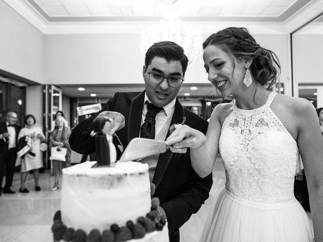 La boda de Damián y Raquel en Teo, A Coruña 81